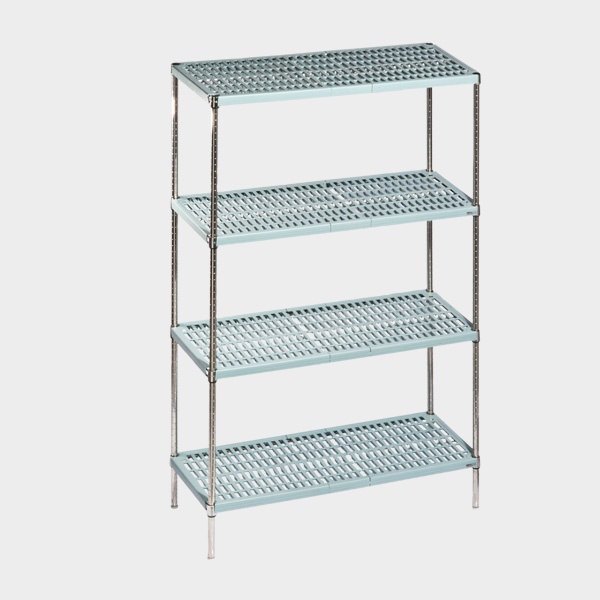 Plastinox Shelf With 4 Tiers NRMPİ 46091